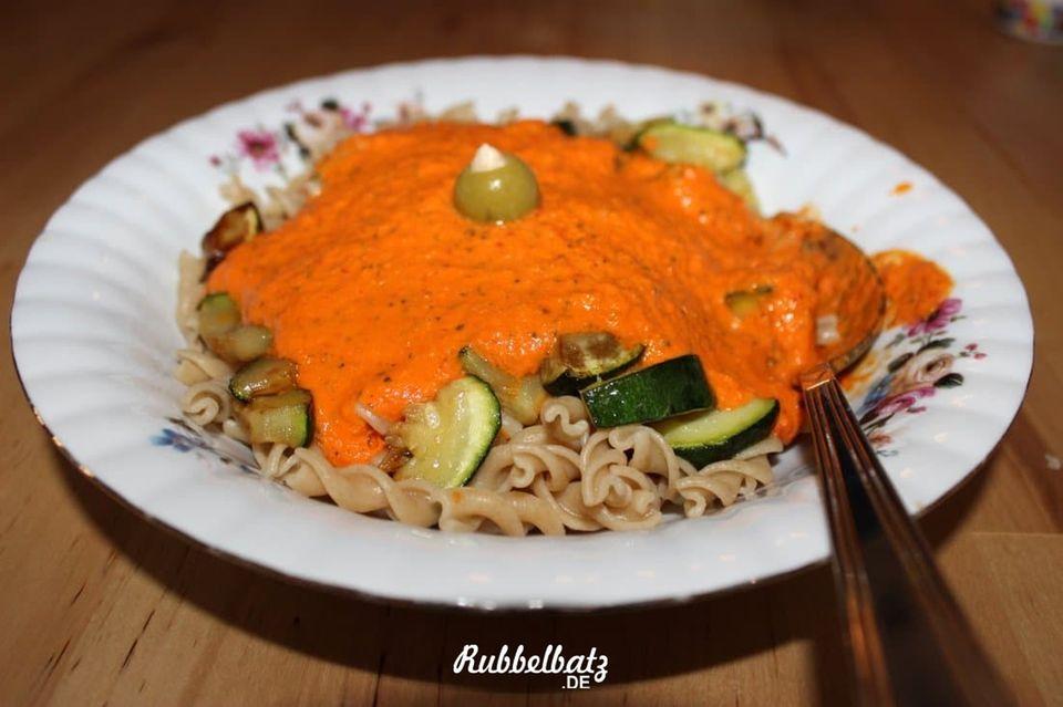 Blog Rubbelbatz Paprika-Pesto