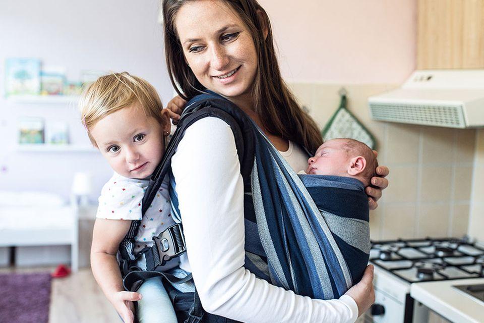 Eine ganz normale Mama: Zwei Kindern gerecht werden – manchmal ein Balanceakt