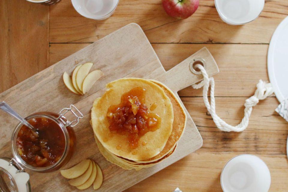 Blog siebenkilopaket Apfelpfannkuchen