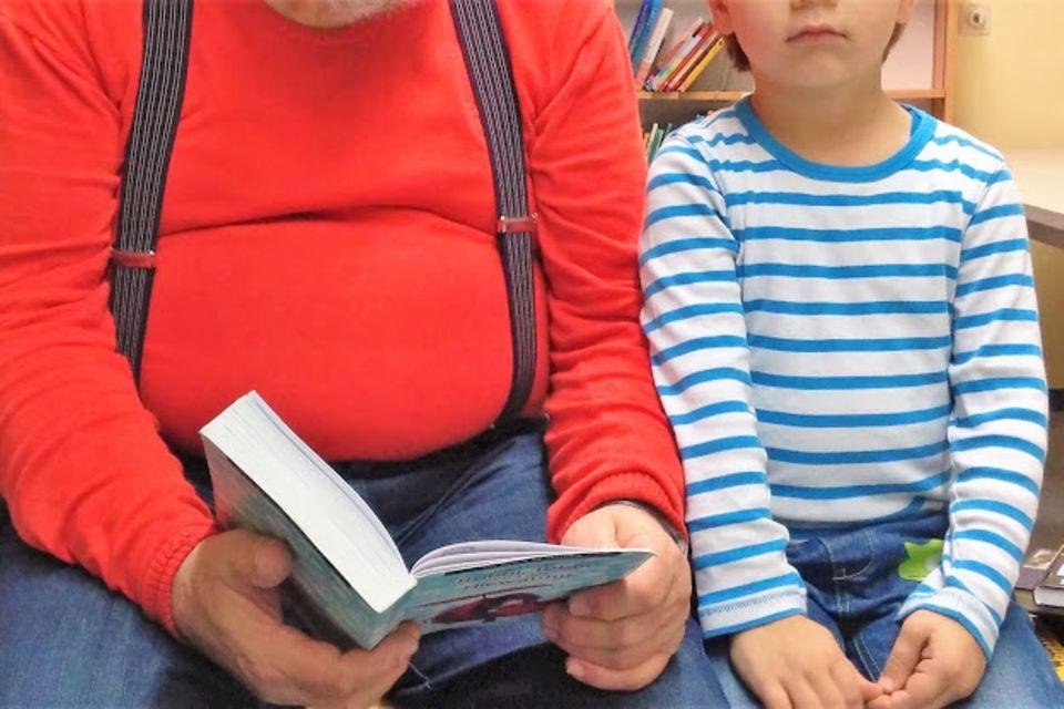 Blog Große Köpfe Grosseltern und Enkel