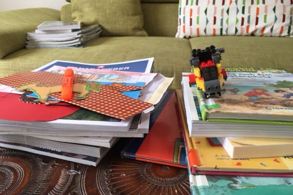 Blog Eine ganz normale Mama Haushalt und Stapel