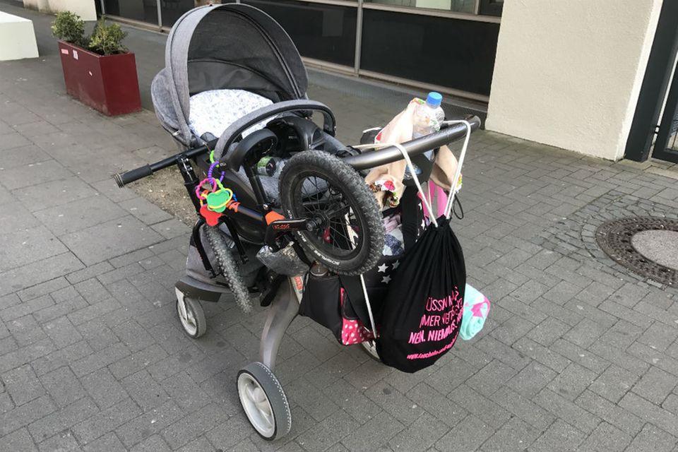 Blog Lächeln und winken Kinderwagen