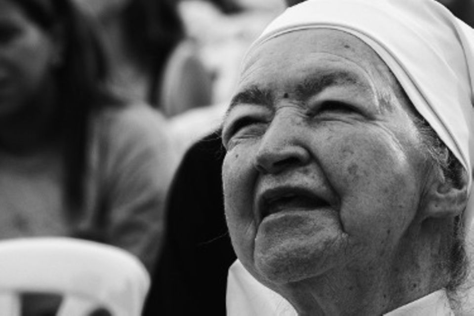 Blog Kinderalltag Gesichter der Nonnen
