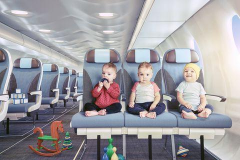 new dads on the blog Fliegen mit Baby