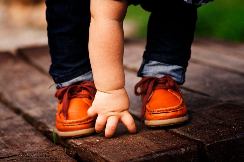 Brauchen Babys Schuhe?