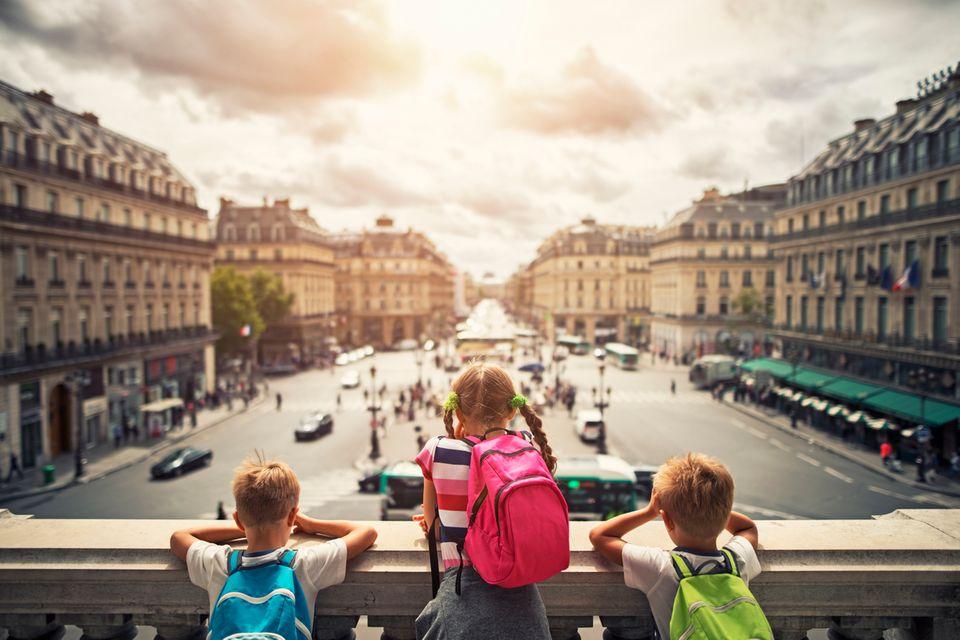 Urlaub mit Kindern in der Stadt