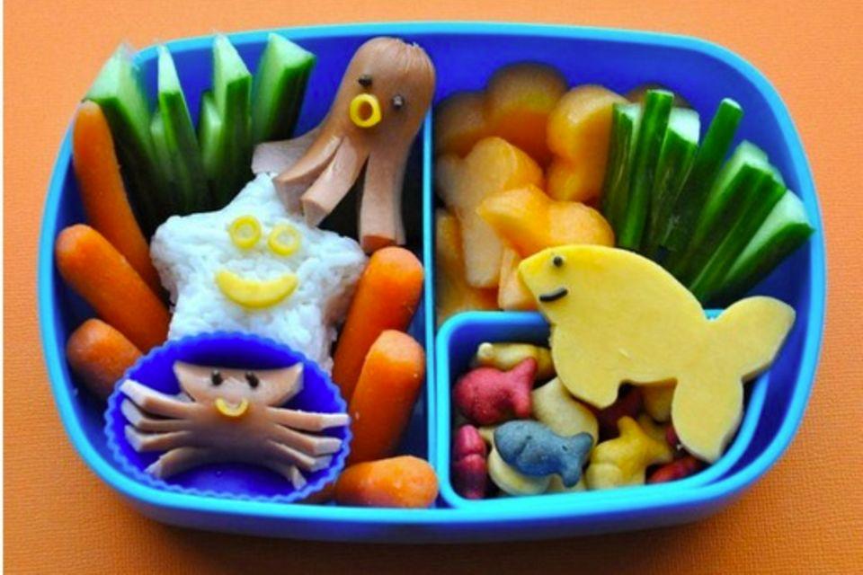 Pausensnack: Die Bento-Box - Wo sich Hase und Bär Guten Appetit sagen