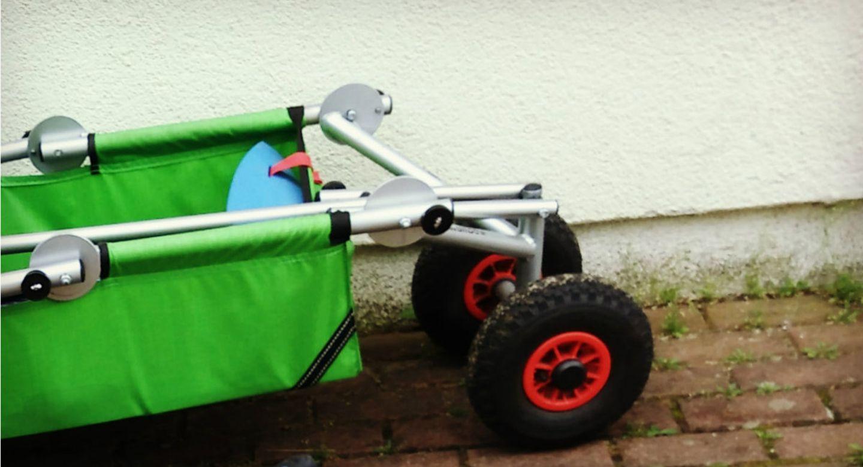 Blog  Verflixter Alltag Grüner Bollerwagen