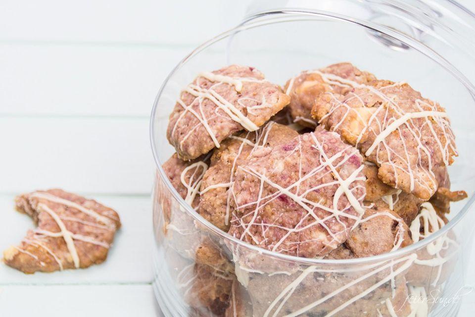 Blog JesSi Ca feierSun.de Himbeer Cookies