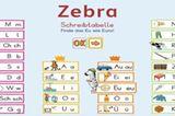 """Schon in der freien Wildbahn sind Zebras ziemlich cool. Aber dieses hier trägt auch noch eine hippe Strickmütze und kennt sich super mit Buchstaben aus! Zugegeben, es hat mit seiner Schreibtabelle schon einige Software-Preise gewonnen, inklusive der Gigamaus 2014. Aber jetzt bietet es auch noch einen Buchstaben-Lern-Rap, ein Erklärvideo und ein Spiel zum Üben mit der Schreibtabelle. Und das alles gratis. Deshalb ein weiteres Mal Daumen hoch für das Zebra!   """"Lesen und schreiben lernen mit der ZEBRA-Schreibtabelle"""" für iOS und Android, Ernst Klett Verlag, gratis."""