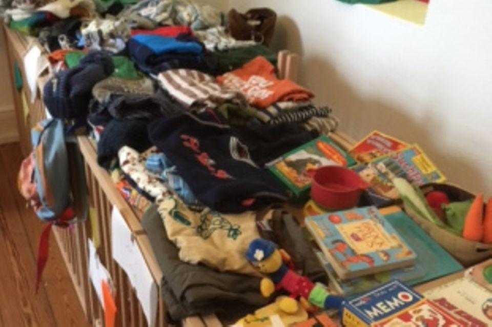 Blog Eine ganz normale Mama Kinderflohmarkt