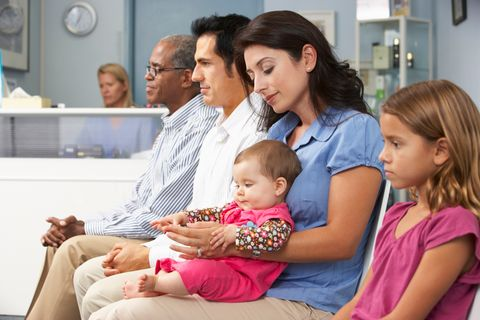 Wartezimmer Kinderarzt