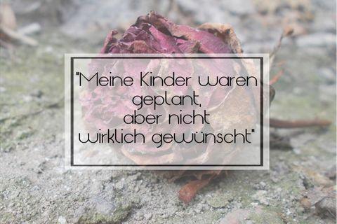 """Mom's favorites and more: """"Meine Entscheidung für Kinder bereue ich permanent"""" - Regretting Motherhood: Interview"""
