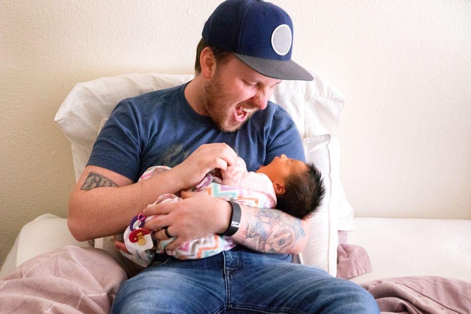 Tattoos: So geht die Liebe zum Kind unter die Haut