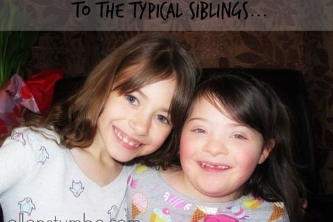 Geschichten aus The Mighty: An typische Geschwister eines Bruders oder einer Schwester mit Behinderung