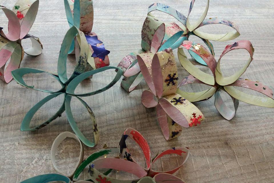 Mamablog Mama Michi: 3 tolle, kostenlose DIY-Deko Weihnachtsideen aus Müll