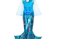 Spätestens seit Arielle ist ein Meerjungfrau-Kostüm ganz oben auf der Wunschliste vieler Mädchen. Mit ganz viel Tüll und Pailletten lässt dieses Kostüm kaum Wünsche offen. Für alle kleinen Meerjungfrauen zwischen drei und sieben Jahren.