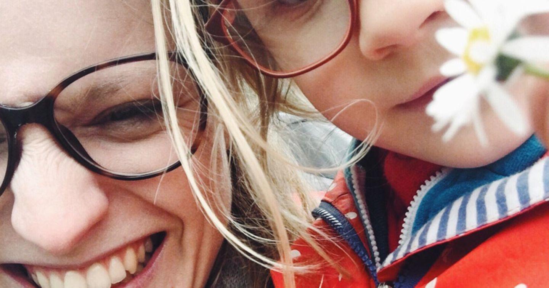Blog von frauraufuss, Bild von Kind und ihr