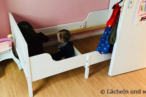 Blog Lächeln und winken Familienbett