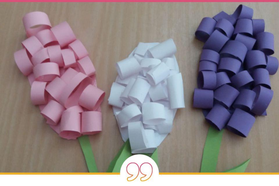 Mamablog Mama Michi 3-D-Blumenkarten