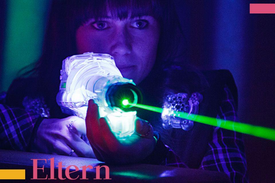 Blog Mama steht Kopf Lasertag