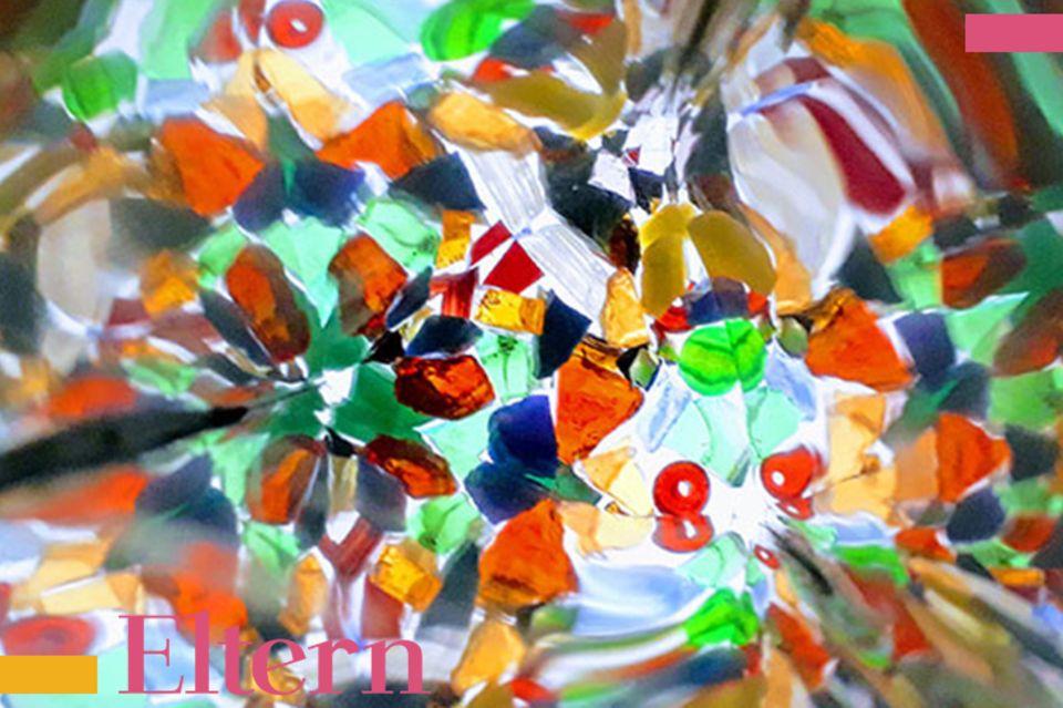 Blog Milchtropfen Kaleidoskop