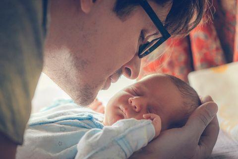 Vaterschaft: Vier Männer erzählen von ihrem neuen Leben