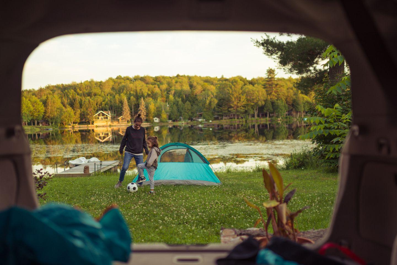 Familienreise: Campingurlaub mit Kind