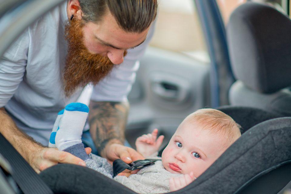 Empfehlungen aus dem ADAC-Kindersitztest: Autositze für Kinder von Geburt bis ca. anderthalb Jahren