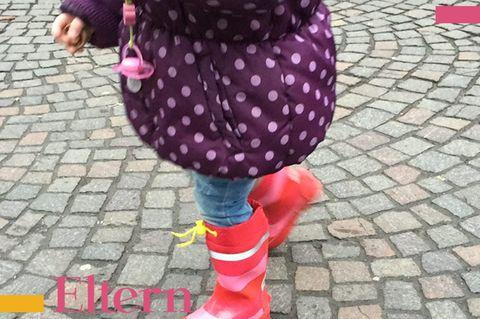Blog Lächeln und winken 2-Jährige
