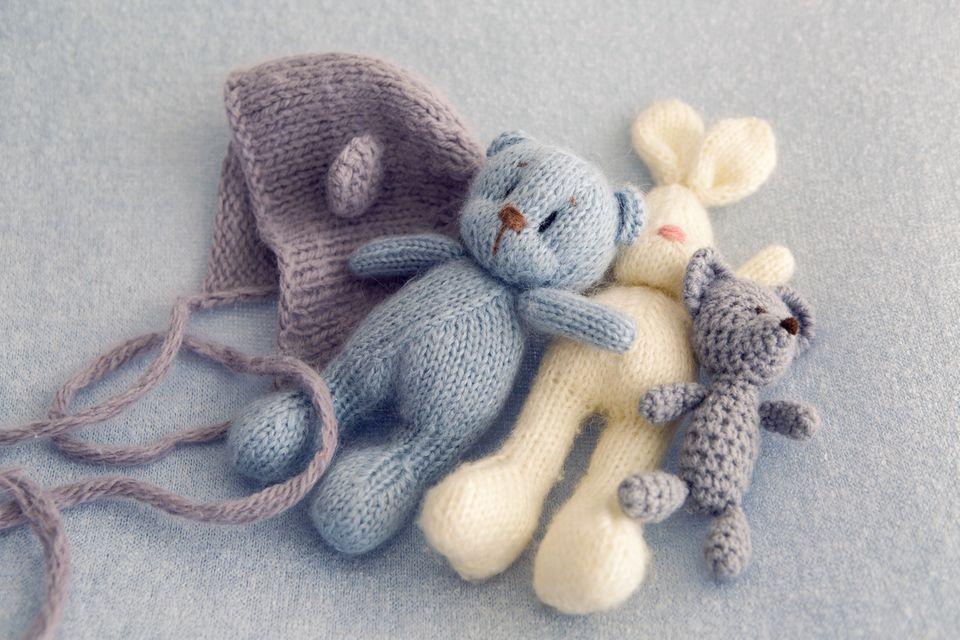 Stricken und Häkeln : DIY: 20 tolle Strick- und Häkelideen für Kindersachen