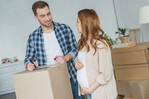 Schwangerschaft: Schwanger? Beim Umzug bitte nicht mit anpacken!