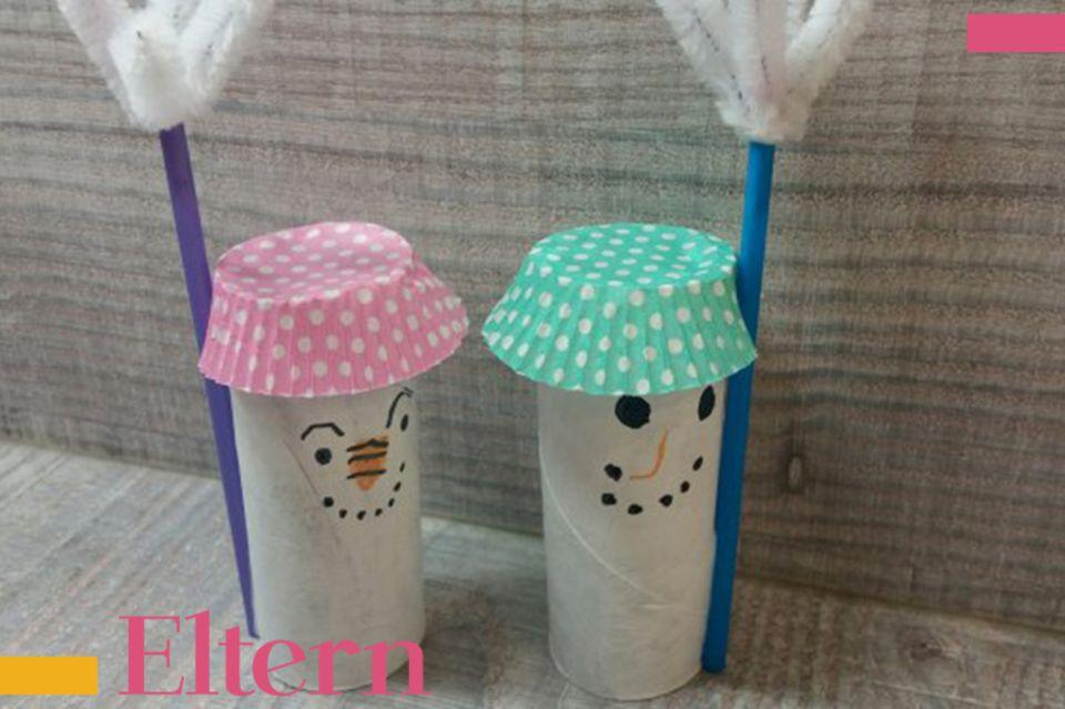 Mamablog Mama Michi DIY Schneemänner