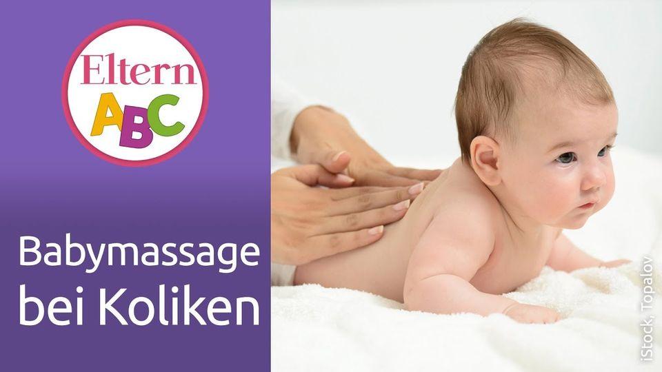 Massage bei Kolik