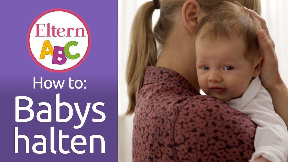 Babys halten und tragen