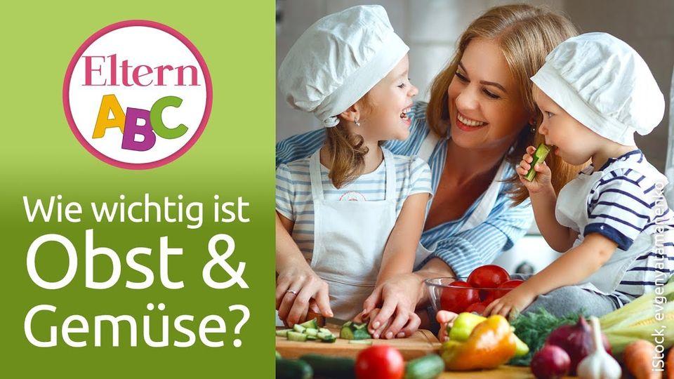 Obst und Gemüse für Kinder
