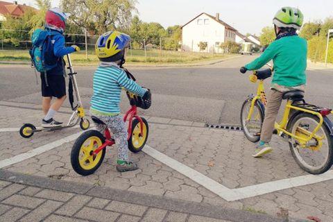 Kinder, Fahrrad