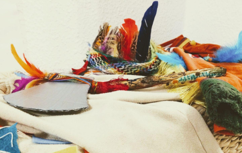 Milchtopfen - Indianer Kostüm selber machen