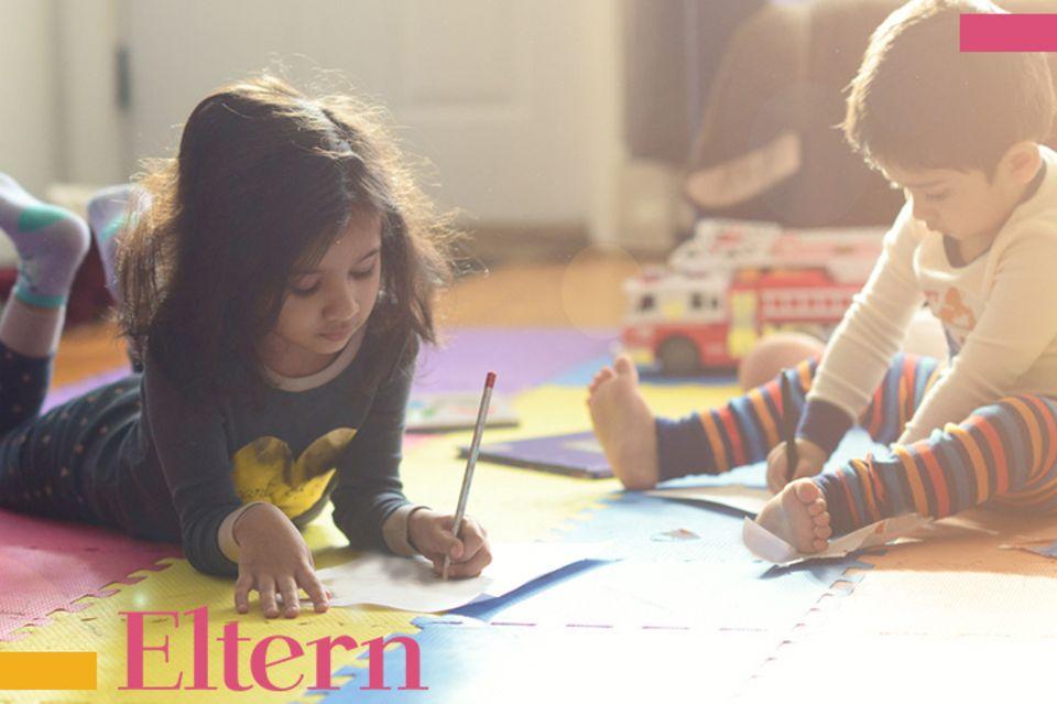 Blog Große Köpfe, Geteilte Kinderzimmer