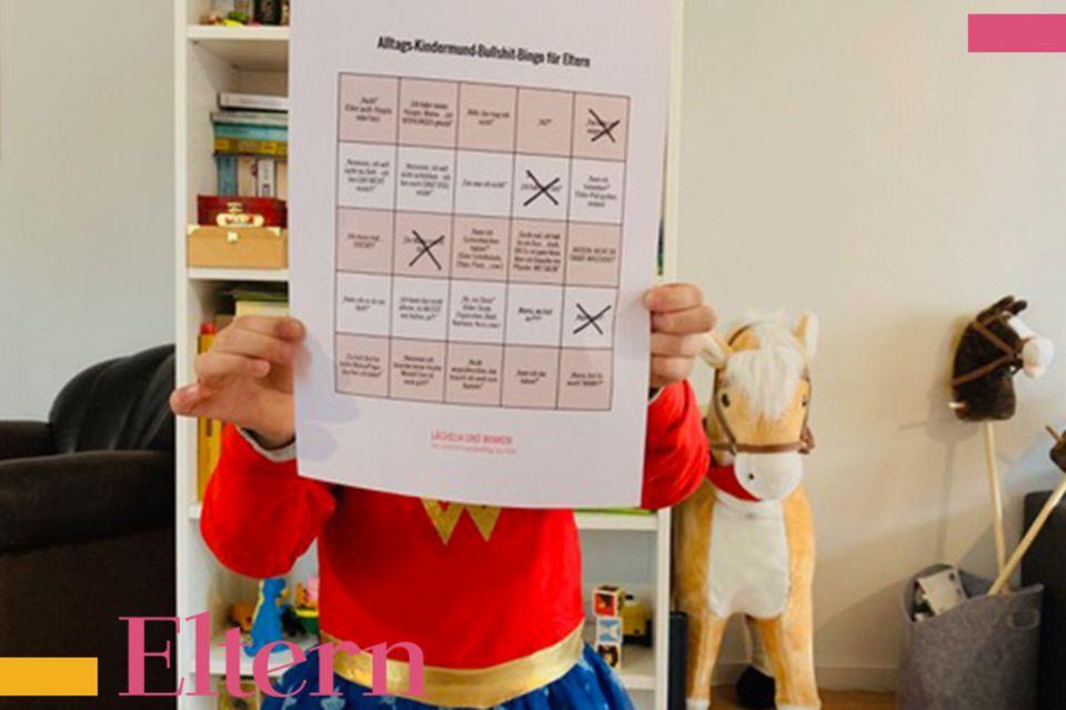 Blog Lächeln und winken, Kindermund Bullshit-Bingo