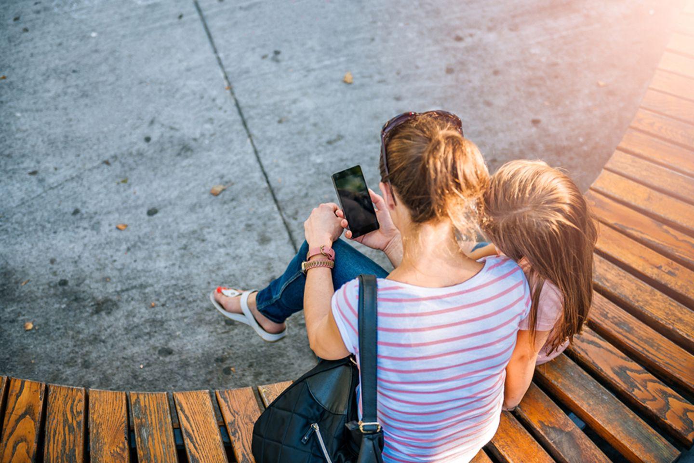 Blog Mama steht Kopf, Handy
