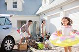 Ferienhaus mit der Familie