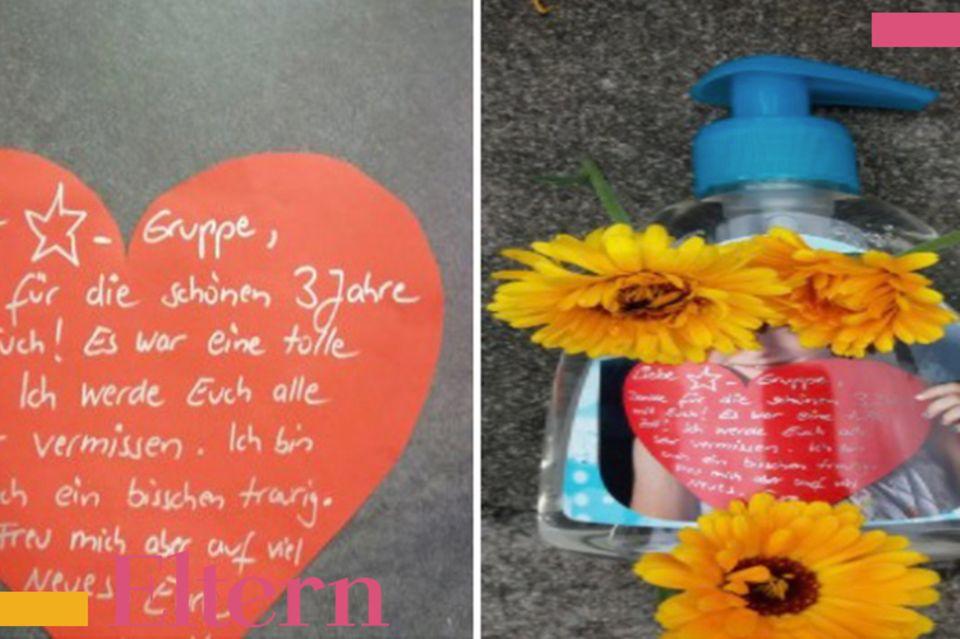 Mamablog Mama Michi Abschiedsgeschenke