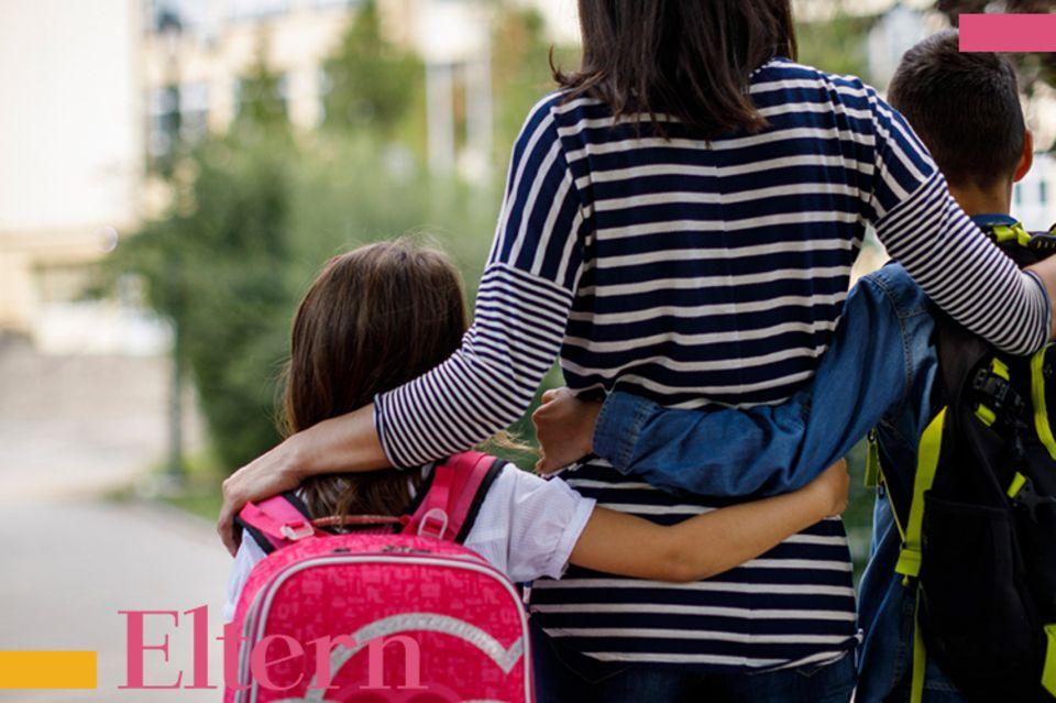 Blog Mama steht Kopf, Erster Schultag