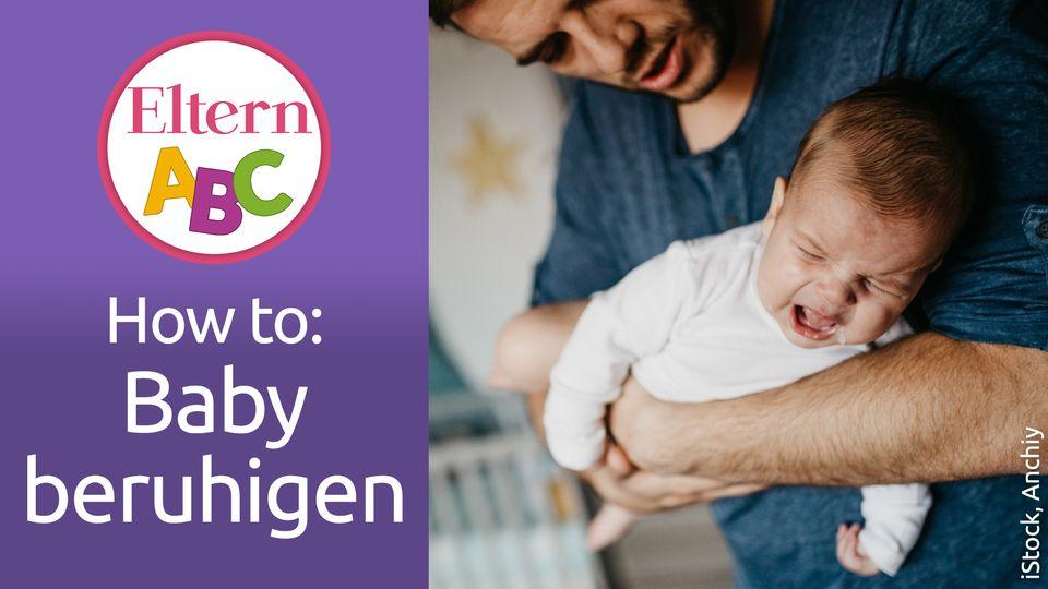 Baby: Dein Baby schreit abends? So kannst du ihm helfen