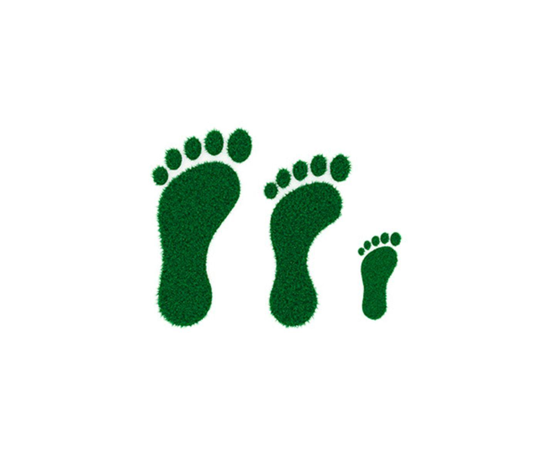 CO2-Footprint Fußabdruck