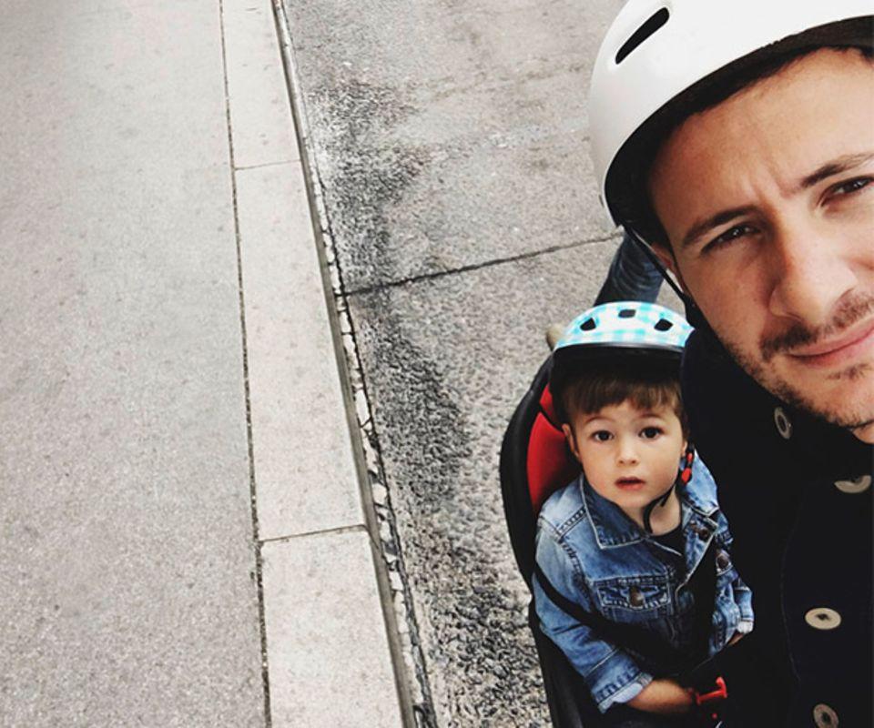 Papa Kind Fahrrad