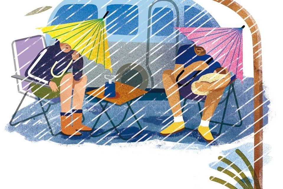 Glosse: Schöner scheitern beim Elternzeiturlaub im Wohnwagen