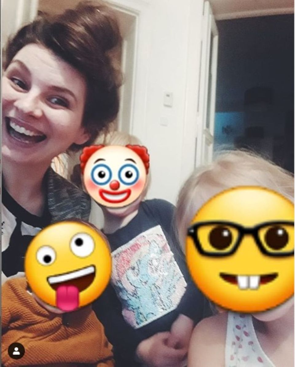 Selfie mit Emojis