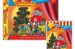 Benjamin Blümchen CD – Der Weihnachtsabend